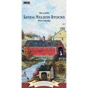 "2016 LANG Linda Nelson Stocks 7.75""x15.5"" Vertical Wall Calendar (1079120)"