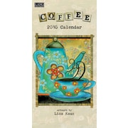 "2016 LANG Coffee 7.75""x15.5"" Vertical Wall Calendar (1079125)"