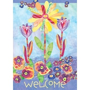 "LANG Flower Burst 12"" x 18"" Mini Garden Flag (1700001)"