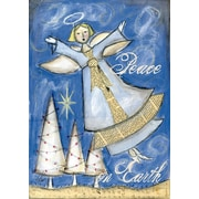 "LANG Peace Angel 12"" x 18"" Mini Garden Flag (1700006)"