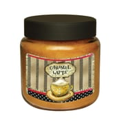 LANG Caramel Latte 16 oz Jar Candle (3140012)