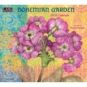 "2016 LANG Bohemian Garden 13 3/8""x12"" Wall Calendar (1001851)"