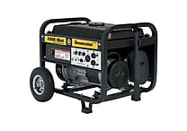 Steele Products 3500W 4 Cycle Gas Powered Portable Generator w/ Wheel Kit