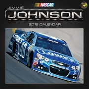 "2016 TF Publishing 12"" x 12"" Jimmie Johnson Wall Calendar (16-1648)"