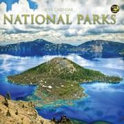 """2016 TF Publishing 7"""" x 7"""" National Parks Mini Calendar (16-2093)"""