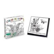 "2016 TF Publishing 5 1/4"" x 5 1/2"" Color Me Happy Daily Desktop Calendar (16-3018)"