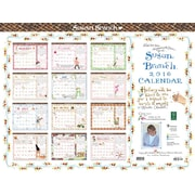"2016 TF Publishing 22"" x 17"" Susan Branch Desk Blotter Calendar (16-8033)"
