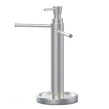 Handi Hand Washing Valet, Brushed Stainless