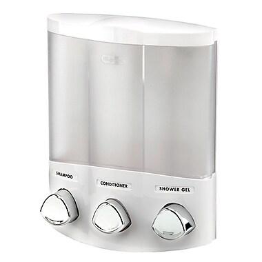 Euro Dispenser Trio, White