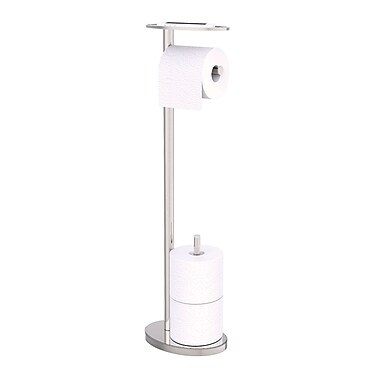 Ovo Toilet Caddy, Chrome