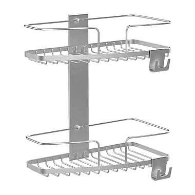 FineLine 2-Tier Basket, Stainless Steel