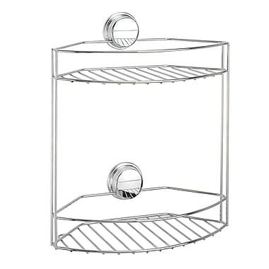 Twist 'N Lock Plus – Panier à 2 niveaux, chrome