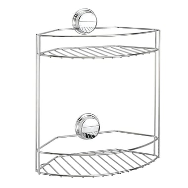 Twist 'N Lock Plus 2 Tier Basket, Chrome