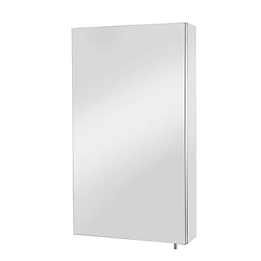 Mirrored Medicine Cabinet, Polished Stainless