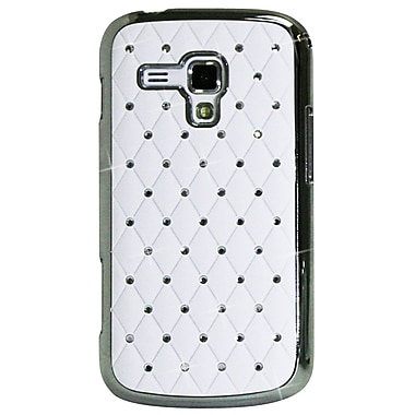 Exian Case for Galaxy Ace 2X, Embedded Crystals White