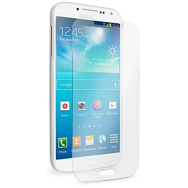 Exian Galaxy S4 Tempered Glass Screen Protector, Clear