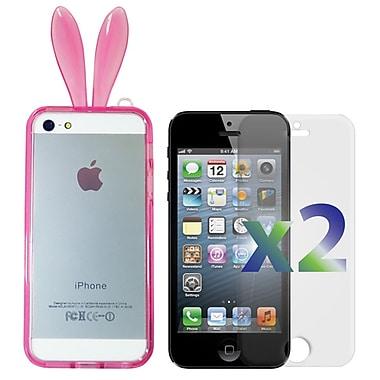 Exian – Étui avec des oreilles de lapin pour iPhone 6