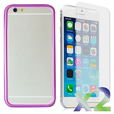 Exian Case for iPhone 6, Bumper Purple