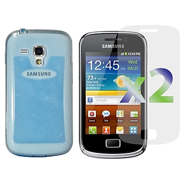 Exian Cases for Galaxy Ace 2X, TPU Sparkling Transparent