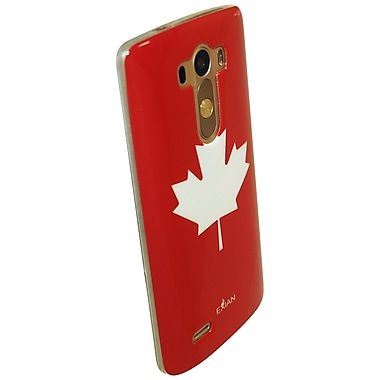 Exian Case for LG G3, Maple Leaf