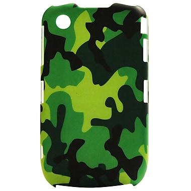 Exian Case for Blackberry Curve 8520, Army Camo Green