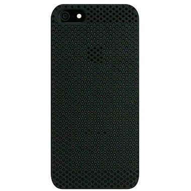 Exian – Étui troué pour iPhone 5/5s, noir