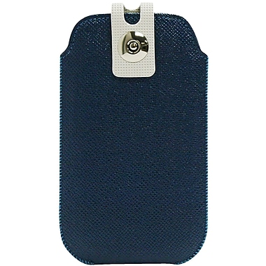 Exian Universal Pouch, Blue with Buckle