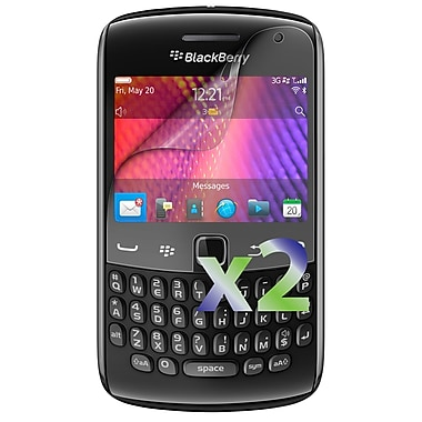 Exian – 2 protecteurs d'écran pour BlackBerry Curve 9360