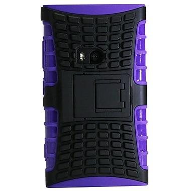 Exian Case for Lumia 920, Armored with Stand Purple