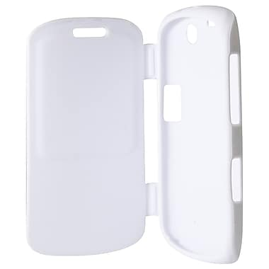Exian Case for Blackberry Curve 9360, White with Front Cover