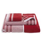 IZOD Oxford Bath Towel; Pompei Red
