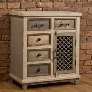 Hillsdale LaRose 5 Drawer Cabinet with Chicken Wire