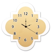 Trend Lab Gold 11'' Quatrefoil Wall Clock
