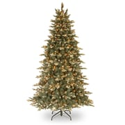 7.5' Green Spruce Artificial Christmas Tree w/ 750 Incandescent Clear Lights w/ Stand