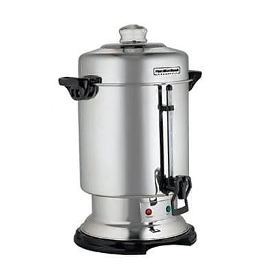 Hamilton Beach 60 Cup Commercial Coffee Urn in Stainless Steel WYF078277866468