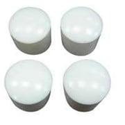Mintcraft FE-50613 0.75in White Plastic Leg Tip (ORGL36006)
