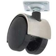 Mintcraft JC,F04,3L 2 in. Chrome Wheel Plate Caster