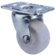 MintCraft 1.25in White and Zinc Plate Caster (ORGL38827)