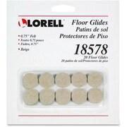 Lorell Self-Stick Round Felt Floor Glides (RTL148786)