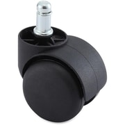 Lorell Hard Wheel B Stem Oversized Safety Casters