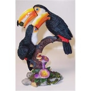 """Goldfarb Fisher Novelty Double Toucans Novelty, 9""""H (RNRDST3338)"""