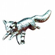 Mayer Mill Brass Fox Hood Ornament, Chrome (MYRMB825)
