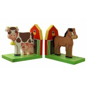 Teamson Wooden Book Ends Happy Farm Room Collection (TMN350)