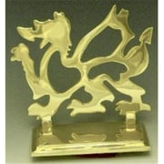 Mayer Mill Brass Welsh Dragon Book Ends, 6in, Pair (MYRMB483)