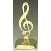Mayer Mill Brass Music Clef Book Ends, Pair (MYRMB462)