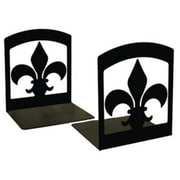 Village Wrought Iron Fleur-de-lis Bookends (VW013)