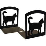 Village Wrought Iron Cat Bookends (VW018)