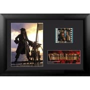 """Film Cells Pirates of the Caribbean Curse of the Black Pearl, S2, Minicell, 7"""" x 5"""", Framed (FLMC678)"""