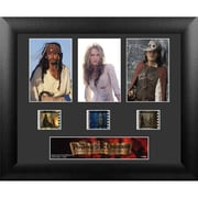 """Film Cells Pirates of the Caribbean Curse of the Black Pearl, S1, 3 Cell Std, 11"""" x 13"""", Framed (FLMC784)"""
