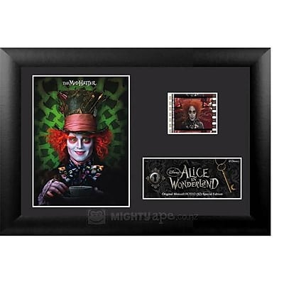 """""Film Cells USFC5312 7""""""""H x 5""""""""W Framed Alice In Wonderland, S2, Minicell (FLMC685)"""""" 1878124"